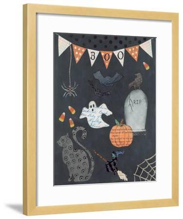 Halloween Whimsy II-Courtney Prahl-Framed Art Print