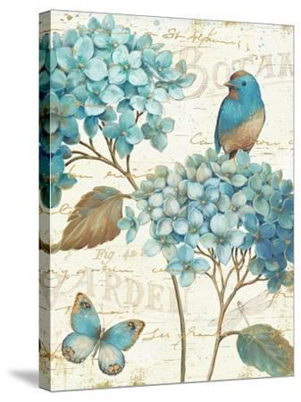 Blue Garden III Crop-Daphne Brissonnet-Stretched Canvas Print