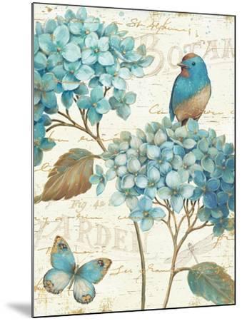 Blue Garden III Crop-Daphne Brissonnet-Mounted Art Print
