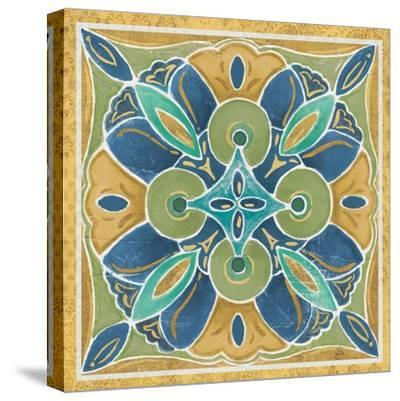 Free Bird Mexican Tiles I-Daphne Brissonnet-Stretched Canvas Print