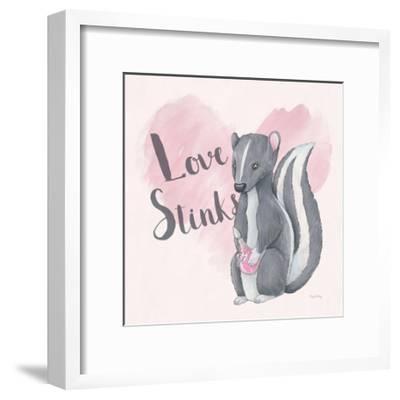 My Furry Valentine II Sq-Elyse DeNeige-Framed Art Print