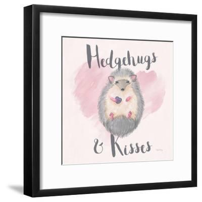 My Furry Valentine III Sq-Elyse DeNeige-Framed Art Print