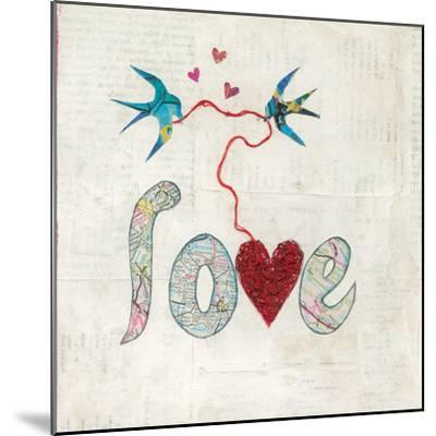 Red Heart-Courtney Prahl-Mounted Art Print