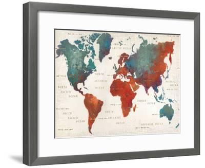 Colorful World I-James Wiens-Framed Art Print