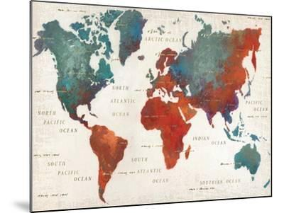 Colorful World I-James Wiens-Mounted Art Print