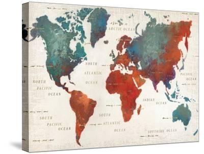 Colorful World I-James Wiens-Stretched Canvas Print