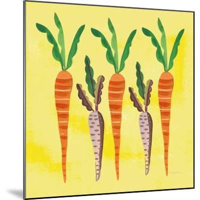 Veggie Time V v2-Farida Zaman-Mounted Art Print