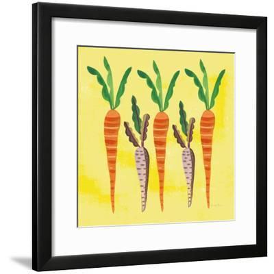 Veggie Time V v2-Farida Zaman-Framed Art Print