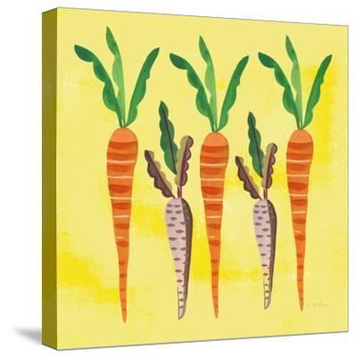Veggie Time V v2-Farida Zaman-Stretched Canvas Print