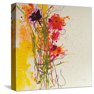 Flower Tango-Jan Griggs-Stretched Canvas Print