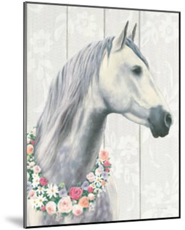 Spirit Stallion I on Wood Crop-James Wiens-Mounted Art Print