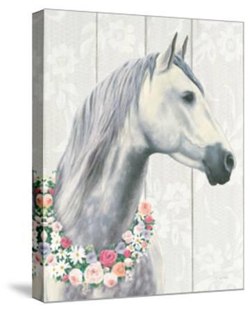 Spirit Stallion I on Wood Crop-James Wiens-Stretched Canvas Print