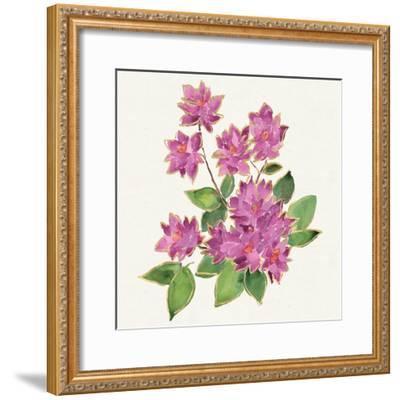 Tropical Fun Flowers IV-Harriet Sussman-Framed Art Print