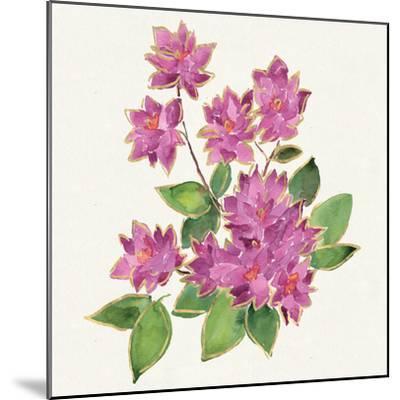 Tropical Fun Flowers IV-Harriet Sussman-Mounted Art Print