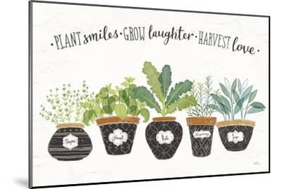 Fine Herbs I-Janelle Penner-Mounted Art Print