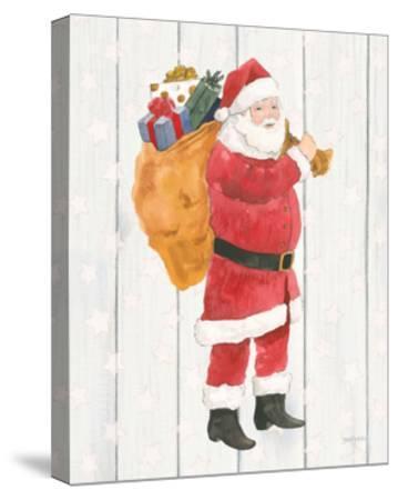 Welcome Christmas I-Jenaya Jackson-Stretched Canvas Print