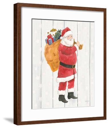 Welcome Christmas I-Jenaya Jackson-Framed Art Print