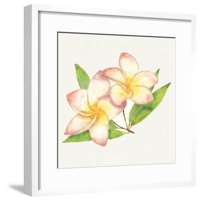 Tropical Fun Flowers I-Harriet Sussman-Framed Art Print
