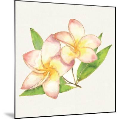 Tropical Fun Flowers I-Harriet Sussman-Mounted Art Print