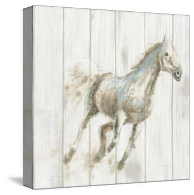 Stallion I on Birch-James Wiens-Stretched Canvas Print