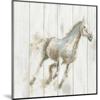 Stallion I on Birch-James Wiens-Mounted Art Print