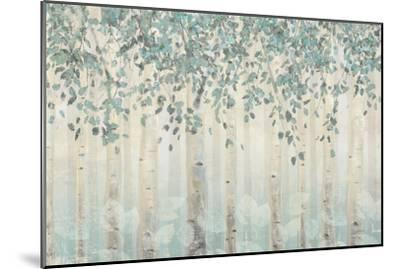 Dream Forest I Silver Leaves-James Wiens-Mounted Art Print