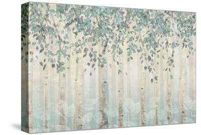 Dream Forest I Silver Leaves-James Wiens-Stretched Canvas Print