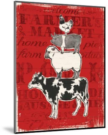 Farmers Market VI-Janelle Penner-Mounted Art Print