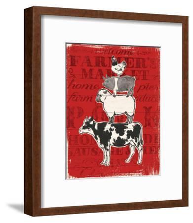 Farmers Market VI-Janelle Penner-Framed Art Print