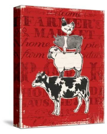 Farmers Market VI-Janelle Penner-Stretched Canvas Print