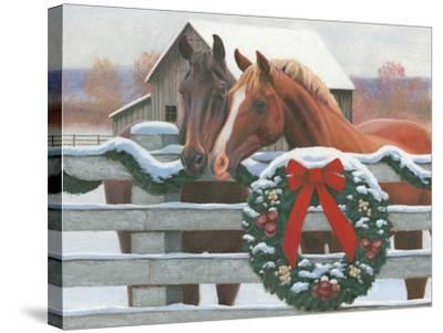 Christmas in the Heartland II-James Wiens-Stretched Canvas Print