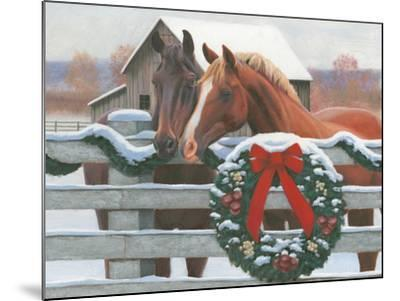 Christmas in the Heartland II-James Wiens-Mounted Art Print