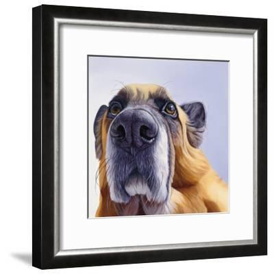 Smooch-James Ruby-Framed Art Print