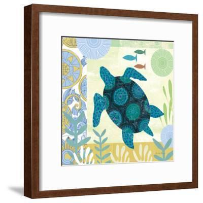 Underwater World IV-Farida Zaman-Framed Art Print