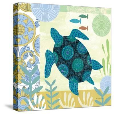 Underwater World IV-Farida Zaman-Stretched Canvas Print