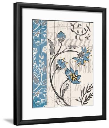Blooming Season II v2-Janelle Penner-Framed Art Print