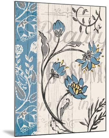 Blooming Season II v2-Janelle Penner-Mounted Art Print