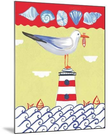 Coastal Bird I-Farida Zaman-Mounted Art Print
