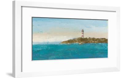 Lighthouse Seascape I-James Wiens-Framed Art Print