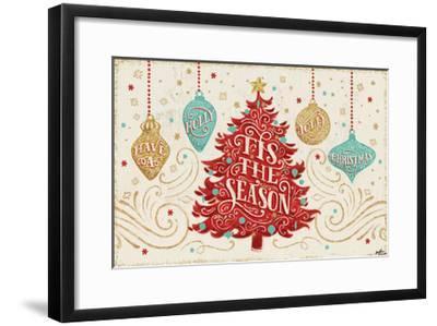 Trimming the Tree II-Janelle Penner-Framed Art Print