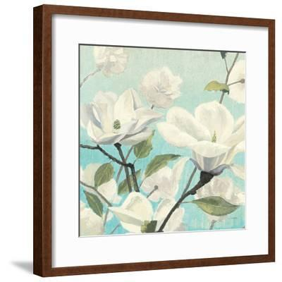 Southern Blossoms II Square-James Wiens-Framed Art Print