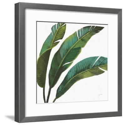 Welcome to Paradise XI on White-Janelle Penner-Framed Art Print
