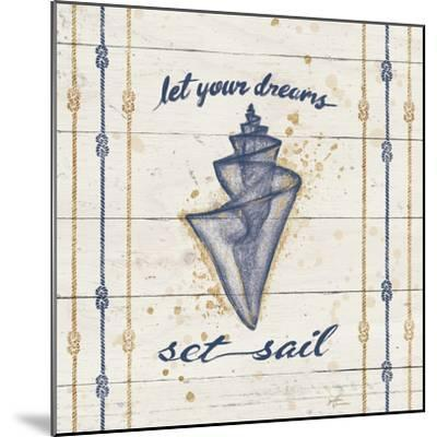 Calm Seas III-Janelle Penner-Mounted Art Print