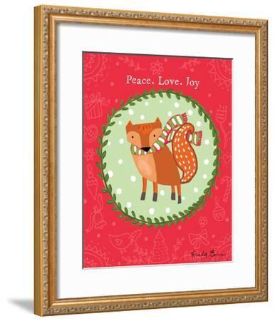 Woodland Friends I-Farida Zaman-Framed Art Print
