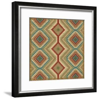 Country Mood Tile V v-James Wiens-Framed Art Print