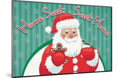 Retro Christmas V Bright-Janelle Penner-Mounted Art Print