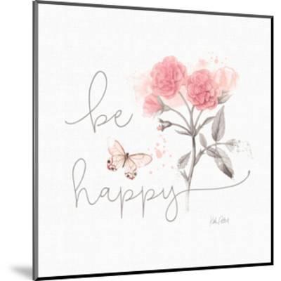 Sunny Day VIII Pink-Katie Pertiet-Mounted Art Print