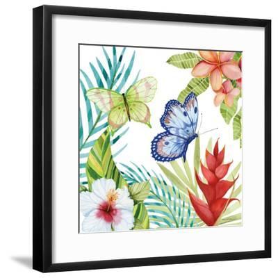 Treasures of the Tropics VI-Kathleen Parr McKenna-Framed Art Print