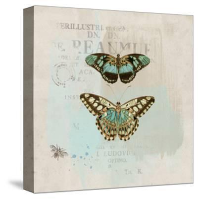 En Bleu III-Katie Pertiet-Stretched Canvas Print