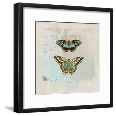 En Bleu III-Katie Pertiet-Framed Art Print